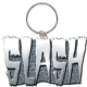Slash logo metal keyring (ro)